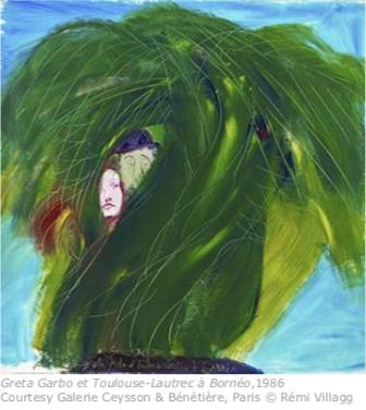 """Musée des Beaux-Arts de Dole – Jean Messagier, """"Tous les sexes du printemps"""""""