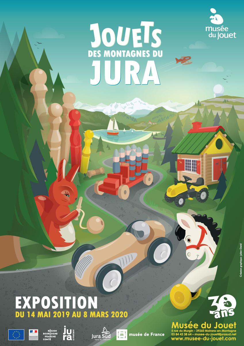 Jouets des Montagnes du Jura – Musée du Jouet – Dès le 14 mai 2019