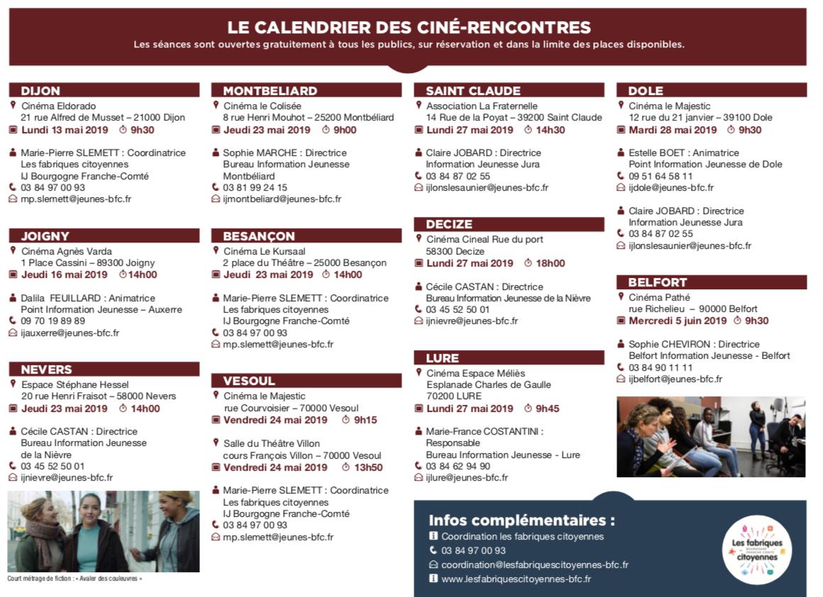 Histoire(s) en court – 20 courts métrages sur la diversité culturelle en Bourgogne – Franche-Comté