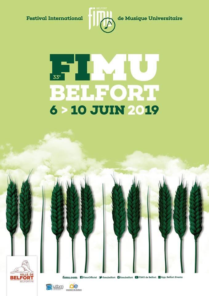 Festival international de musique universitaire de Belfort – du 6 au 10 juin 2019