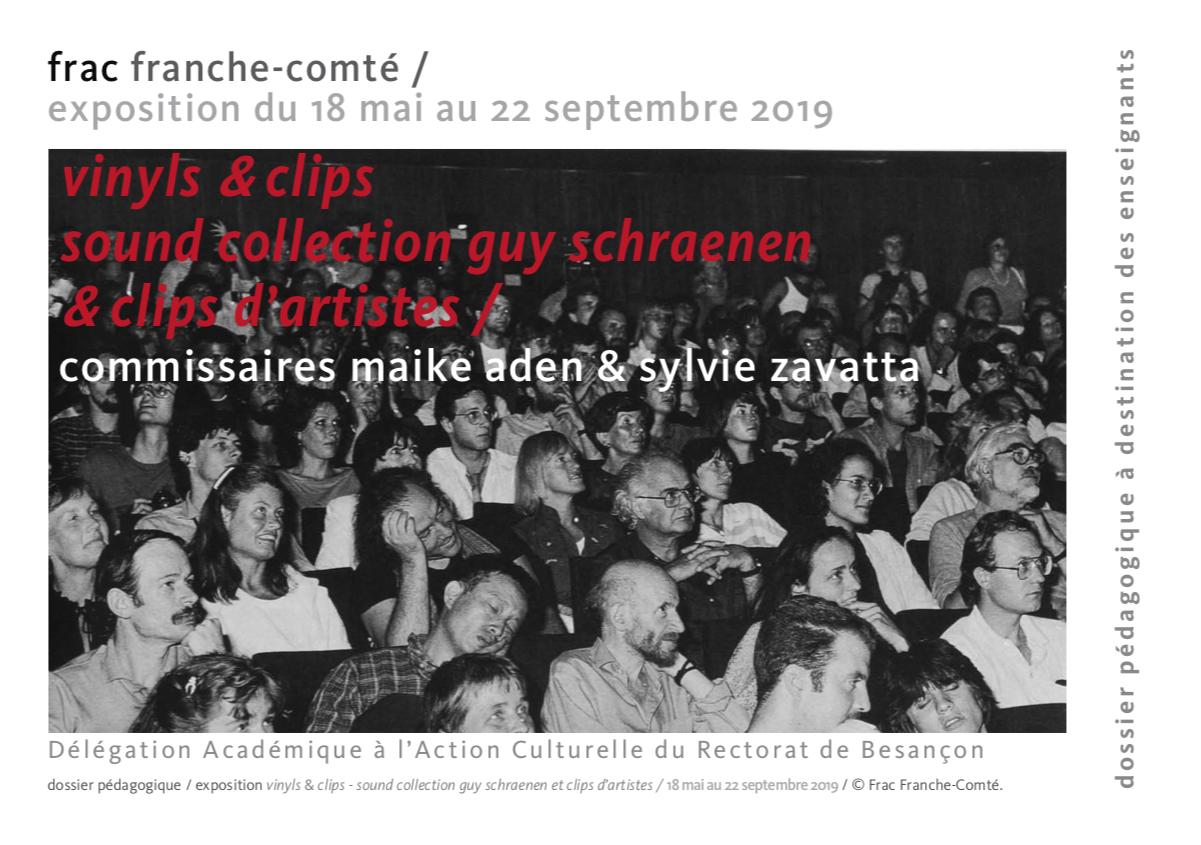 """Frac de Besançon – """"Vinyls et clips"""" – Dossier pédagogique"""
