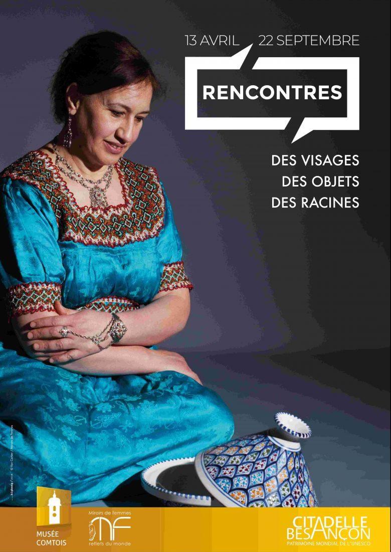 """""""Rencontres, des visages, des objets, des racines"""""""" : la nouvelle exposition de la Citadelle de Besançon"""