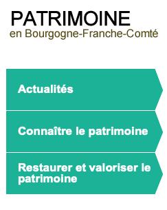 """Connaissez-vous le site """"Patrimoine en Bourgogne Franche-Comté"""" ?"""
