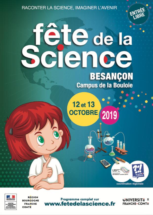 Programme de la Fête de la science à Besançon