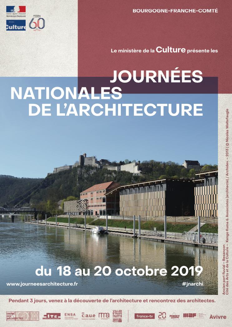 Journées nationales de l'architecture – Du 18 au 20 octobre 2019