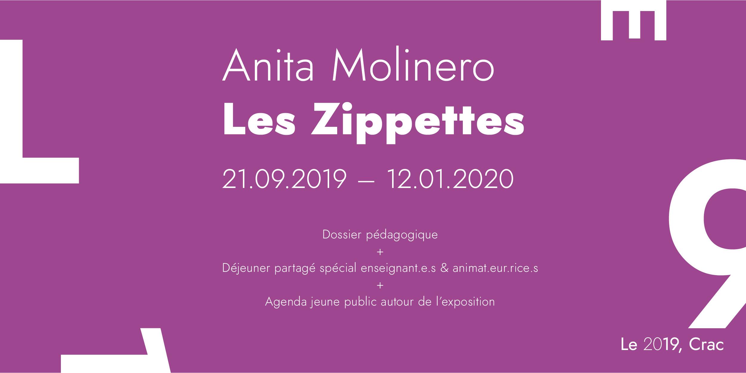 Dossier pédagogique Exposition Anita Molinero et déjeuner partagé enseignants et animateurs