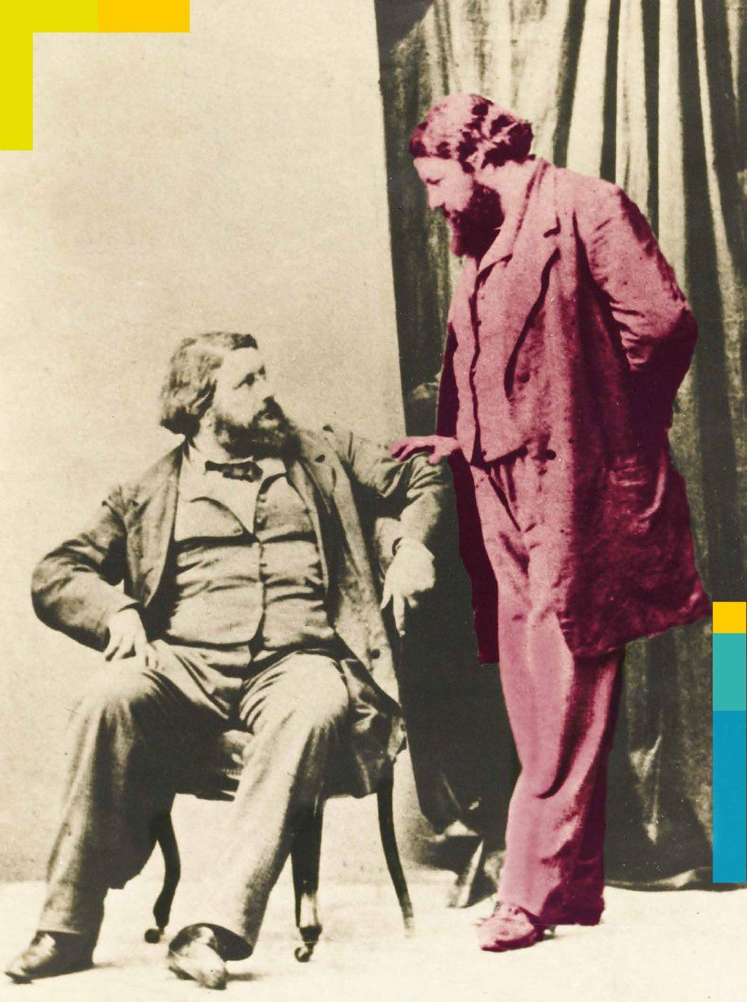 """Ferme Courbet – Exposition """"Courbet – Isabey, le peintre et son architecte"""" à voir jusqu'au 3 novembre 2019"""