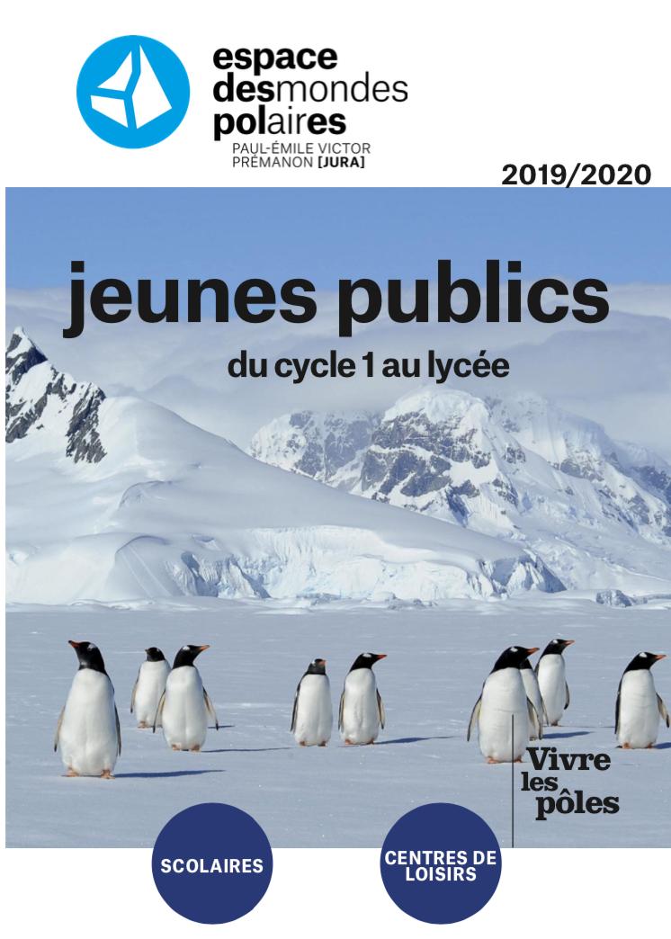 Espaces des mondes polaires – Activités jeunes publics du cycle 1 au lycée