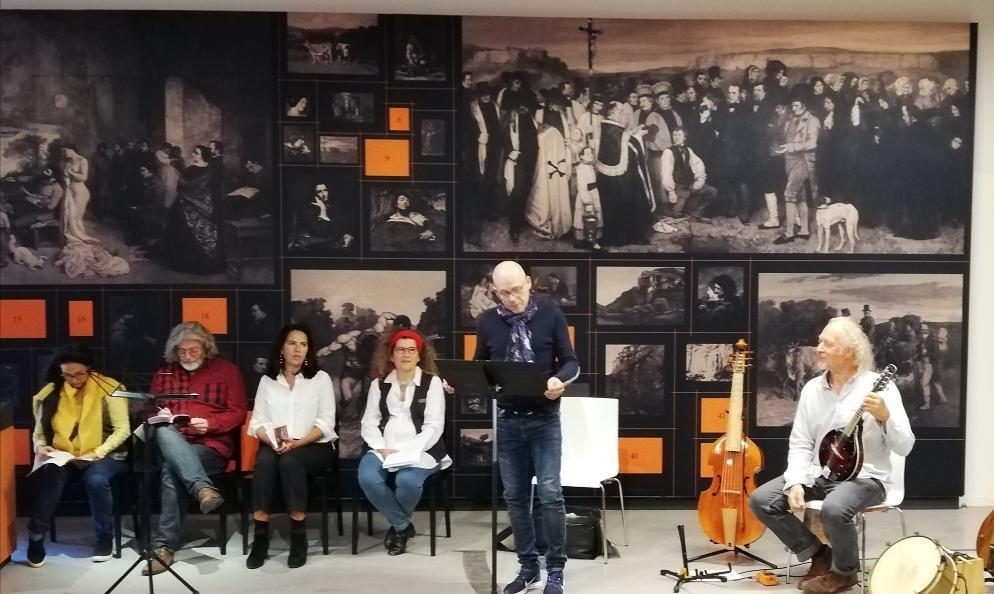«Gustave Courbet: non au conformisme» Restitution de la résidence des auteurs à la Ferme de Flagey (pôle Courbet) – 4 octobre 2019