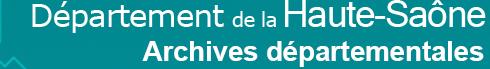 Lettre de rentrée du service éducatif des Archives de la Haute-Saône