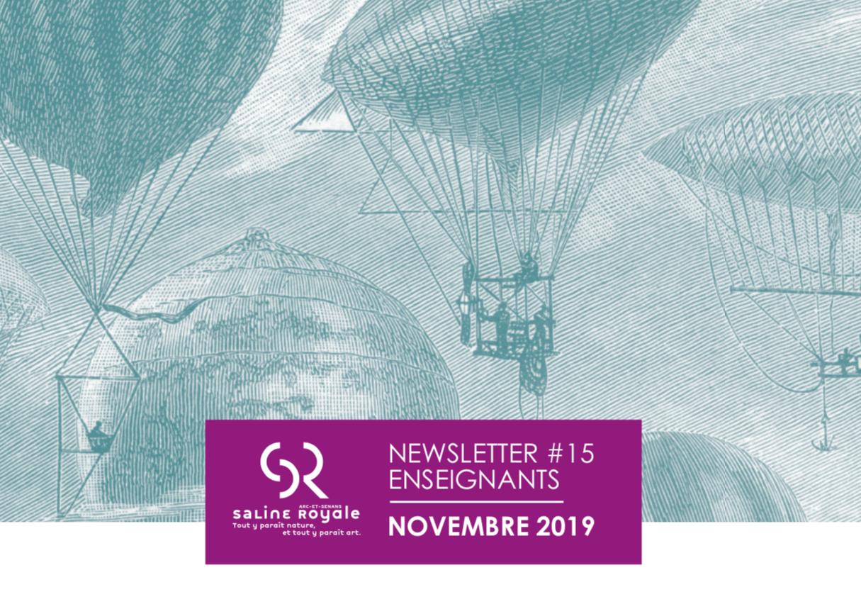 Newsletter de la Saline Royale d'Arc-et-Senans – Novembre 2019