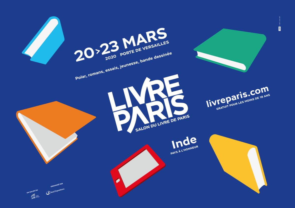LIVRE PARIS 2020 – VISITE SCOLAIRE