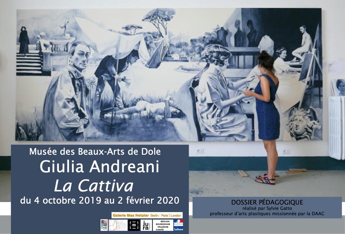 """Dossier pédagogique – Musée de Beaux Arts de Dole – Exposition """"La Cattiva"""" de Giulia Andreani"""