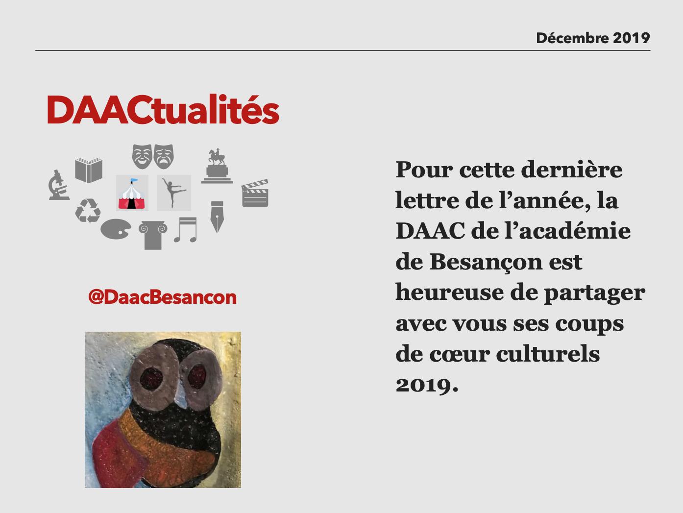 DAACtualités – Découvrez le numéro de décembre