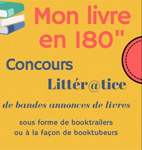 """Concours Littér@tice 2020 – Mon livre en 180"""""""