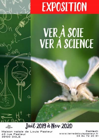 """Exposition """"Ver à soie, ver à science"""" – Maison Natale de Pasteur"""
