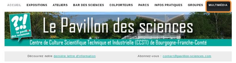 Les nouveautés 2020 au Pavillon des sciences de Montbéliard