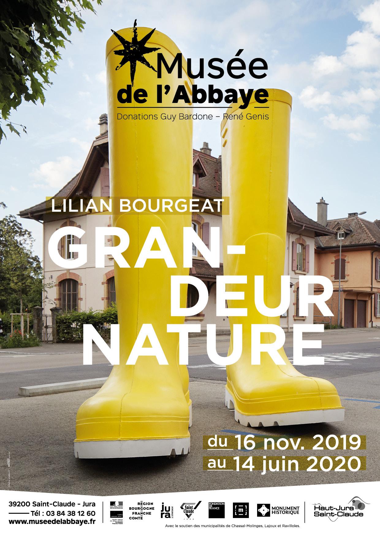 Grandeur nature – Lilian Bourgeat – Musée de l'Abbaye de Saint-Claude