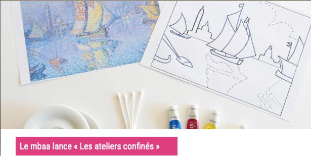 Les ateliers confinés du Musée des beaux-arts et d'archéologie de Besançon