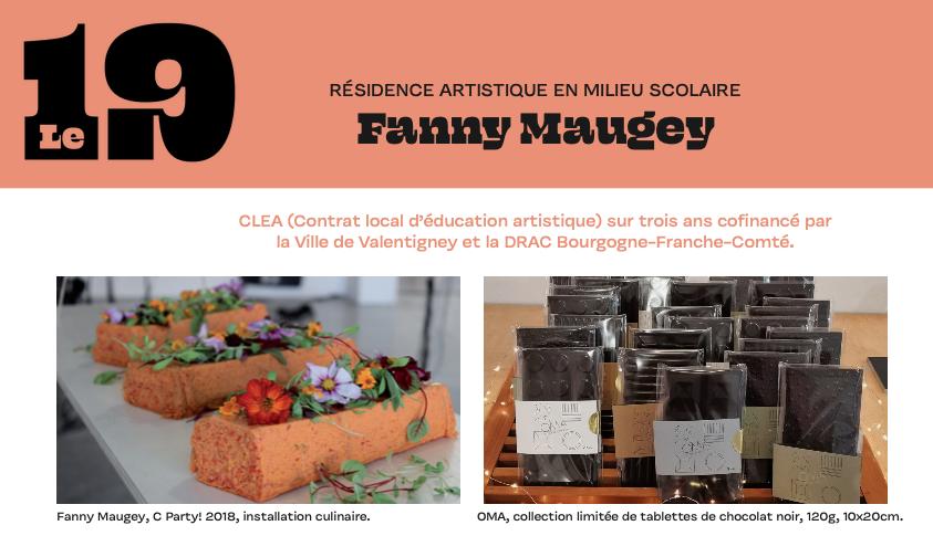 Résidences d'artistes au 19, Crac : Fanny Maugey et Emma Haëck