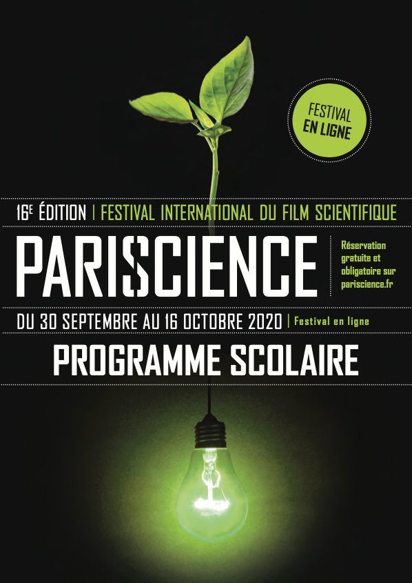 Pariscience, festival numérique de films scientifiques à destination des scolaires