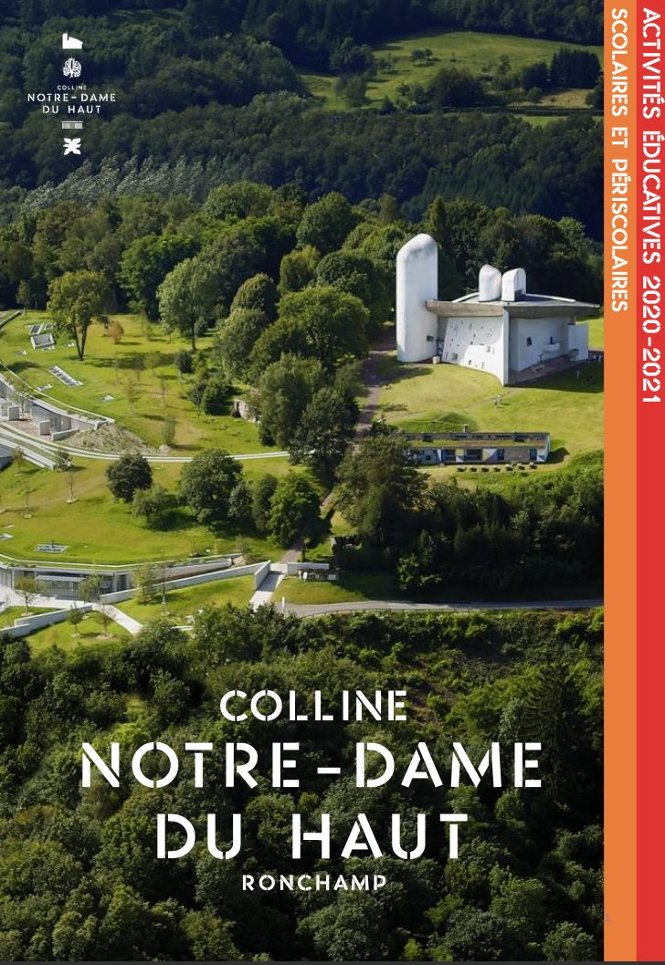 Colline Notre Dame du Haut – Activités à destination des scolaires pour 2020-2021
