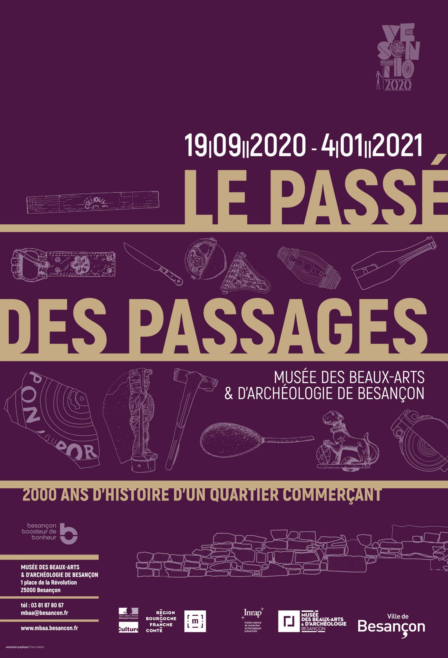 Le Passé des Passages, 2000 ans d'histoire d'un quartier commerçant – Mbaa Besançon